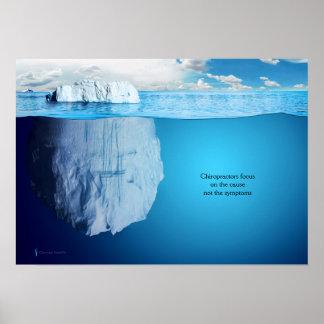 Iceberg Chiropractic Poster