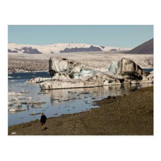 Iceberg formations 2 postcard
