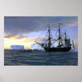 iceberg I Poster