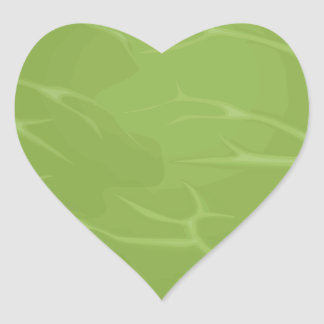 Iceberg Lettuce Heart Sticker