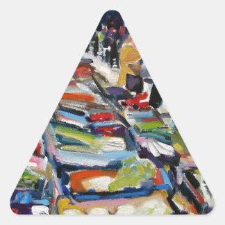 iceberg lettuce moore street dublin triangle sticker