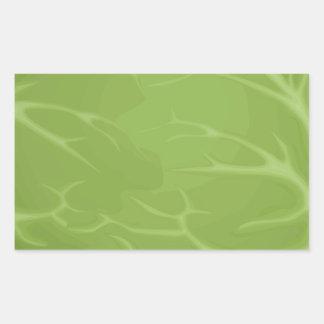 Iceberg Lettuce Rectangular Sticker