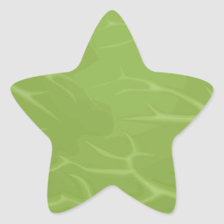 Iceberg Lettuce Star Sticker