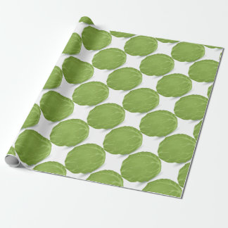 Iceberg Lettuce Wrapping Paper