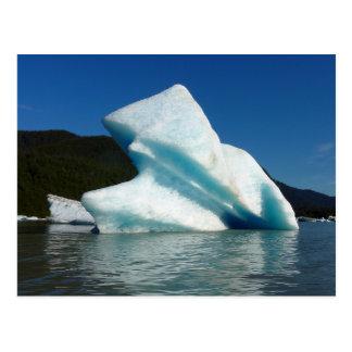 Iceberg on Mendenhall Lake in Alaska Postcard