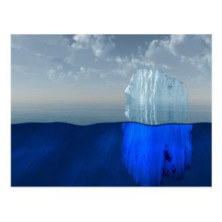 Iceberg Postcard