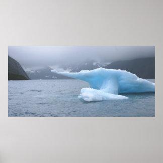 Iceberg, Whittier, AK Poster