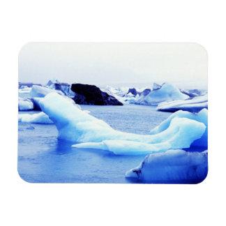 Icebergs at Jokulsarlon Lagoon Magnet