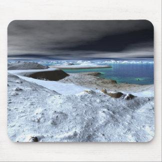 Icebergs Mousepad
