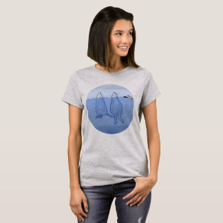 Icebergs t-shirt woman