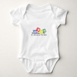 ICEC Blocks Logo Baby Bodysuit
