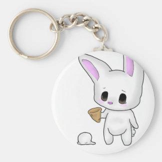 Icecream Bunny Keychain