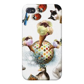 Icecream/Cute Animals iPhone 4/4S Cases