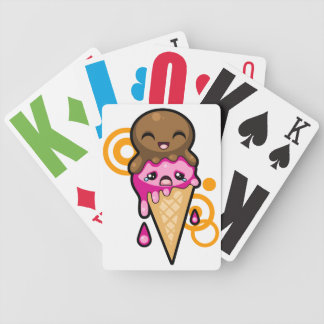 Icecream Dreams Bicycle Playing Cards