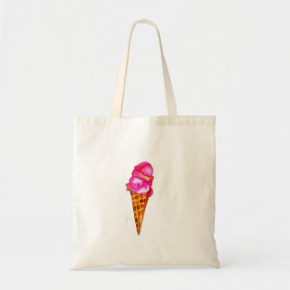icecream gelato cute food art tote bag