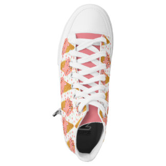 ICECREAM SHOES, yummy girly, pink, Ice Cream Shoes Printed Shoes