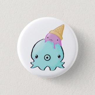 Icecream Squid 3 Cm Round Badge