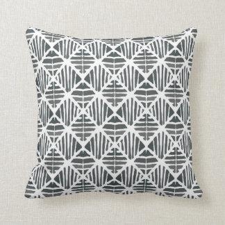 Iced coal pattern cushion