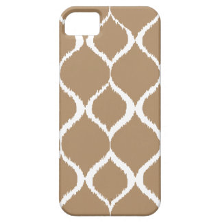 Iced Coffee Geometric Ikat Tribal Print Pattern Barely There iPhone 5 Case