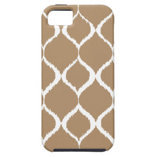 Iced Coffee Geometric Ikat Tribal Print Pattern iPhone 5 Covers