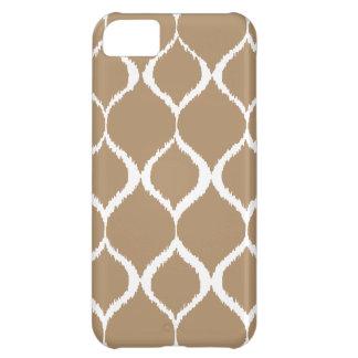 Iced Coffee Geometric Ikat Tribal Print Pattern iPhone 5C Case
