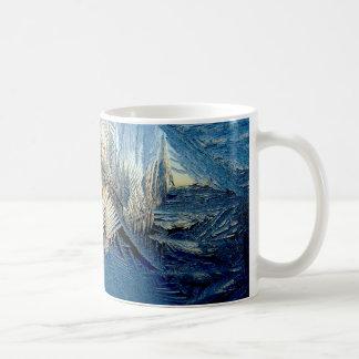 Iced Classic White Coffee Mug