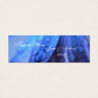 Iced Petals Mini Business Card