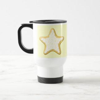 Iced Star Cookie Yellow and Cream Coffee Mugs