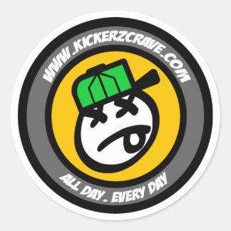 IceKream Man Logo Sticker (Small)