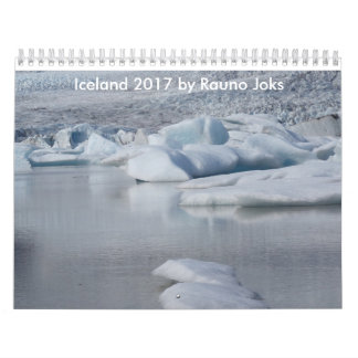 Iceland 2017 by Rauno Joks Calendars