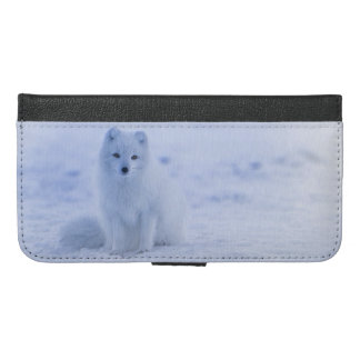 Iceland Arctic Fox iPhone 6/6s Plus Wallet Case