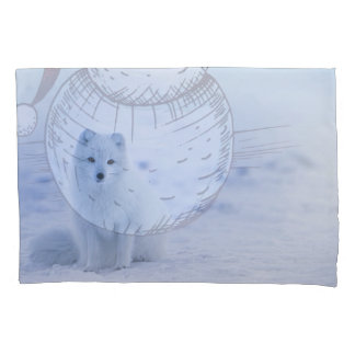 Iceland Arctic Fox Pillowcase