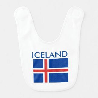 Iceland Baby Bib