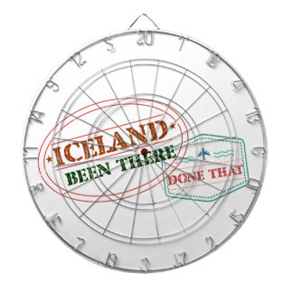 Iceland Been There Done That Dartboard
