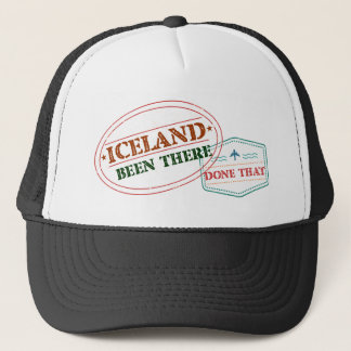 Iceland Been There Done That Trucker Hat