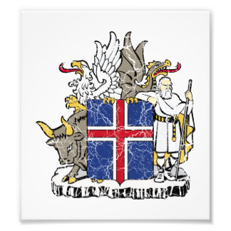 Iceland Coat Of Arms Photo Print