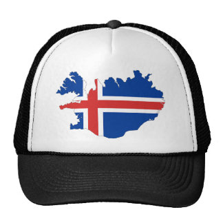 Iceland country flag cap
