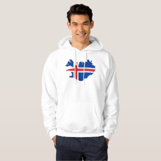 Iceland country flag hoodie