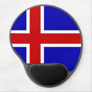 Iceland country long flag nation symbol republic gel mouse pad