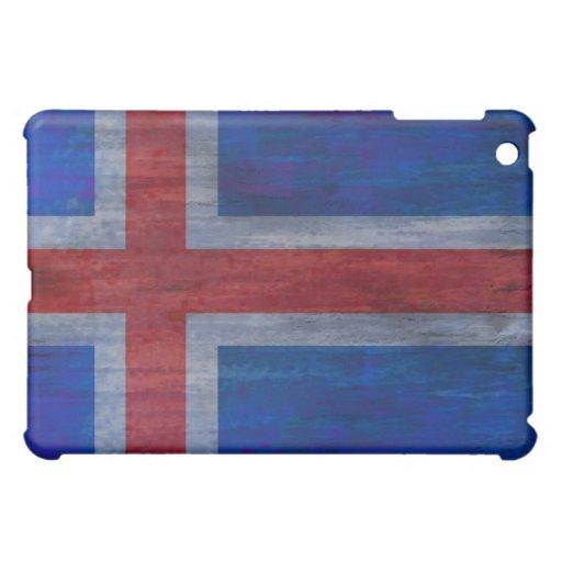 Iceland distressed flag iPad mini covers