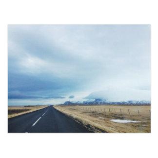 Iceland Drive Postcards