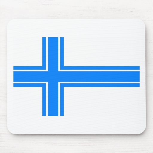 Iceland Flag (1913 Proposal) Mouse Pads