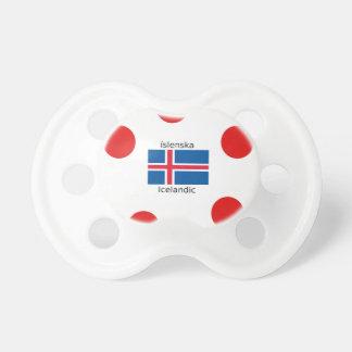 Iceland Flag And Icelandic Language Design Dummy