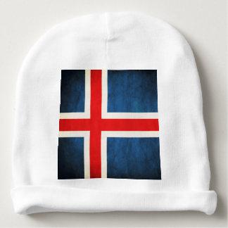 Iceland flag baby beanie