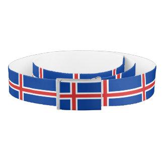 Iceland Flag Belt