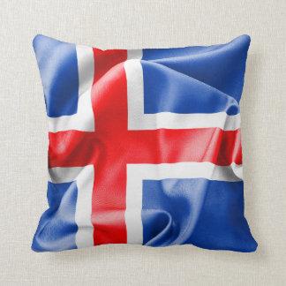 Iceland Flag Throw Cushions