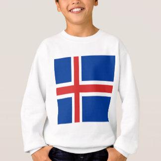 Iceland flag design on products sweatshirt