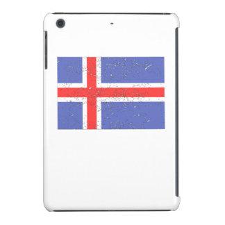 Iceland Flag (Distressed) iPad Mini Covers