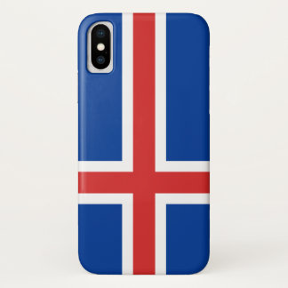 Iceland Flag iPhone X Case