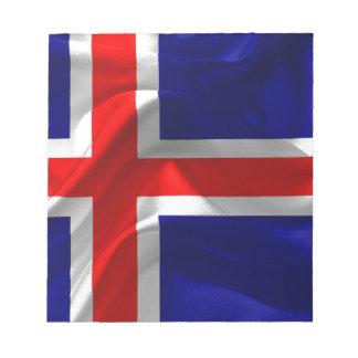 iceland-Flag Notepad